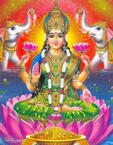 shri lakshmi ricchezza